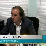 """GUSTAVO SOOS: """"EL FALLO CONTRA MENÉNDEZ ES VERGONZOSO"""""""