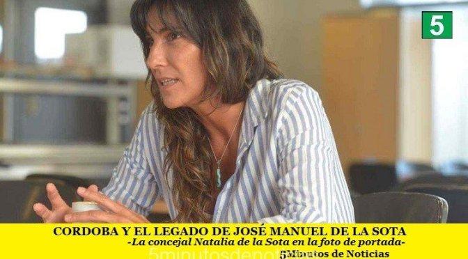 CÓRDOBA Y EL LEGADO DE JOSÉ MANUEL DE LA SOTA
