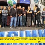 TOTAL RESPALDO DEL FRENTE SINDICAL Y LAS 62 ORGANIZACIONES A LOS MOTOQUEROS, EN SU PELEA CONTRA LAS PLATAFORMAS Y EL GOBIERNO