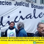 LOS JUDICIALES BONAERENSES REALIZAN ESTE MIÉRCOLES UN PARO TOTAL DE ACTIVIDADES EN TODA LA PROVINCIA