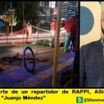 """Por la muerte de un repartidor de RAPPI, ASiMM pide la renuncia de """"Juanjo Méndez"""""""