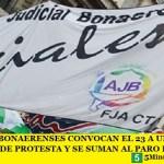 LOS JUDICIALES BONAERENSES CONVOCAN EL 23 A UNA JORNADA PROVINCIAL DE PROTESTA Y SE SUMAN AL PARO DEL 29