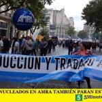 LOS MÉDICOS NUCLEADOS EN AMRA TAMBIÉN PARAN ESTE 29 DE MAYO
