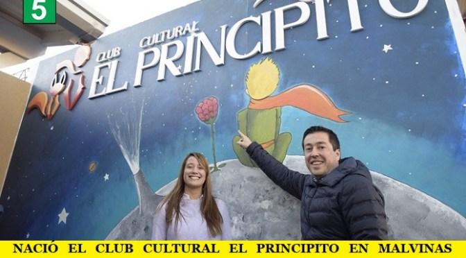 NACIÓ EL CLUB CULTURAL EL PRINCIPITO EN MALVINAS ARGENTINAS