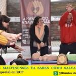 MILES DE MALVINENSES YA SABEN CÓMO SALVAR VIDAS   Jornada especial en RCP