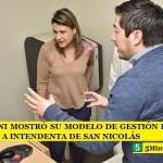 LEO NARDINI MOSTRÓ SU MODELO DE GESTIÓN EN SALUD A CANDIDATA A INTENDENTA DE SAN NICOLÁS