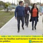 AVANZA LA OBRA DEL NUEVO ENTORNO URBANO DE VILLA DE MAYO | Pronto las familias malvinenses tendrán un nuevo lugar de esparcimiento público