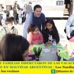 MILES DE FAMILIAS DISFRUTARON DE LAS VACACIONES DE INVIERNO EN MALVINAS ARGENTINAS | Leo Nardini siempre al lado de los vecinos