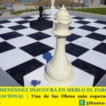 GUSTAVO MENÉNDEZ INAUGURA EN MERLO EL PARQUE DE LA UNIDAD NACIONAL | Una de las Obras más esperadas por la comunidad