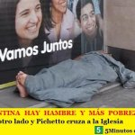 EN ARGENTINA HAY HAMBRE Y MÁS POBREZA   Macri mira para otro lado y Pichetto cruza a la Iglesia