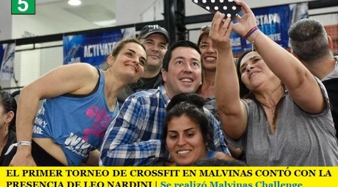 EL PRIMER TORNEO DE CROSSFIT EN MALVINAS CONTÓ CON LA PRESENCIA DE LEO NARDINI   Se realizó Malvinas Challenge
