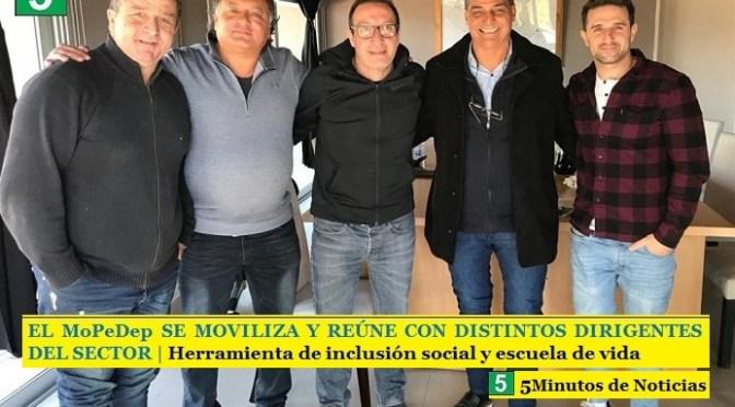 EL MoPeDep SE MOVILIZA Y REÚNE CON DISTINTOS DIRIGENTES DEL SECTOR | Herramienta de inclusión social y escuela de vida