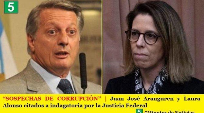 """""""SOSPECHAS DE CORRUPCIÓN""""   Juan José Aranguren y Laura Alonso citados a indagatoria por la Justicia Federal"""