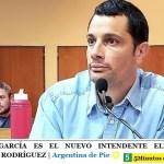 MAURO GARCÍA ES EL NUEVO INTENDENTE ELECTO DE GENERAL RODRÍGUEZ   Argentina de Pie ☀️