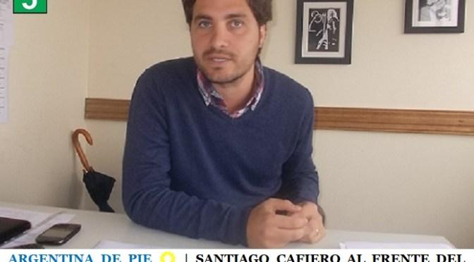 ARGENTINA DE PIE ☀️   SANTIAGO CAFIERO AL FRENTE DEL EQUIPO DE TRANSICIÓN