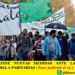 LA AJB DEFINE NUEVAS MEDIDAS ANTE LA FALTA DE CONVOCATORIA A PARITARIAS | Paro judicial el 16 y 23 de octubre
