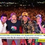FERIA DEL ENCUENTRO CULTURAL EN MARIANO ACOSTA | Más de 150 mil personas disfrutaron este fin de semana de las propuestas