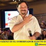 GUSTAVO SÁENZ ES EL GOBERNADOR ELECTO DE SALTA