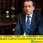 LA JUSTICIA FEDERAL PIDIÓ AL GOBIERNO INFORMACIÓN SOBRE SUBSIDIOS A DESOCUPADOS ANTES DE LAS ELECCIONES