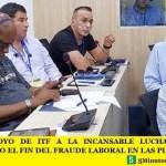 FUERTE APOYO DE ITF A LA INCANSABLE LUCHA DE ASIMM RECLAMANDO EL FIN DEL FRAUDE LABORAL EN LAS PLATAFORMAS