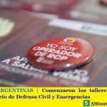 MALVINAS ARGENTINAS | Comenzaron los talleres de RCP en el nuevo edificio de Defensa Civil y Emergencias
