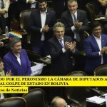 IMPULSADO POR EL PERONISMO LA CÁMARA DE DIPUTADOS APROBÓ EL REPUDIO AL GOLPE DE ESTADO EN BOLIVIA