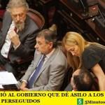 EL PJ LE PIDIÓ AL GOBIERNO QUE DÉ ASILO A LOS DIRIGENTES BOLIVIANOS PERSEGUIDOS
