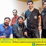 SINDICATOS DE ARGENTINA Y URUGUAY AVANZAN EN LA CONFORMACIÓN DE UN BLOQUE REGIONAL | Pelean contra la precarización de las plataformas