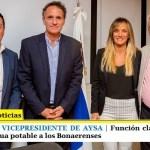LEO NARDINI ES EL VICEPRESIDENTE DE AYSA | Función clave que permitirá llevar cloacas y agua potable a los Bonaerenses
