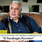 "PASQUALE GUAGLIANONE EN MERLO | Presenta el libro ""Il Naufragio Previsto"""
