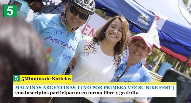 MALVINAS ARGENTINAS TUVO POR PRIMERA VEZ SU BIKE FEST | 700 inscriptos participaron en forma libre y gratuita