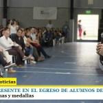 LEO NARDINI PRESENTE EN EL EGRESO DE ALUMNOS DEL PLAN FINES II | Entrega de diplomas y medallas