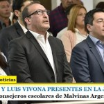 LEO NARDINI Y LUIS VIVONA PRESENTES EN LA JURA | Nuevos Concejales y Consejeros escolares de Malvinas Argentinas
