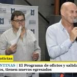 MALVINAS ARGENTINAS | El Programa de oficios y salida laboral, también el Curso de árbitros, tienen nuevos egresados