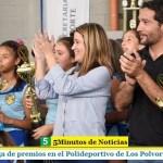 Entrega de premios en el Polideportivo de Los Polvorines