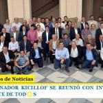 EL GOBERNADOR KICILLOF SE REUNIÓ CON INTENDENTES DEL FRENTE DE TOD☀️S