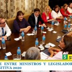 REUNIÓN CUMBRE ENTRE MINISTROS Y LEGISLADORES BONAERENSES POR LA LEY IMPOSITIVA 2020