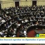 EL FRENTE DE TODOS BUSCARÁ APROBAR EN DIPUTADOS EL PROYECTO SOBRE DEUDA EXTERNA