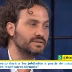 """CAFIERO: EL GOBIERNO DARÁ A LOS JUBILADOS A PARTIR DE MARZO AUMENTOS DE SUMAS FIJAS """"HASTA TENER NUEVA FÓRMULA"""""""