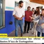 Malvinas Argentinas | Continúan las obras de mejoras en el Jardín de Infantes N°911 de Tortuguitas