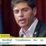 """Gobernador Kicillof: """"Cambiemos fue un experimento neoliberal fracasado"""""""
