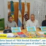 """""""Juanchi"""" Zabaleta lanzó el """"Kit Social Escolar"""", un set de artículos de librería con grandes descuentos para el inicio de clases"""