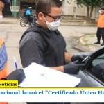 El Gobierno nacional lanzó el «Certificado Único Habilitante para Circulación»