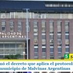 Leo Nardini firmó el decreto que aplica el protocolo contra el virus COVID-19 en el municipio de Malvinas Argentinas