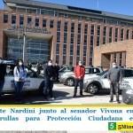 El intendente Nardini junto al senador Vivona entregaron 10 nuevas patrullas para Protección Ciudadana en Malvinas Argentinas