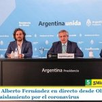 El Presidente Alberto Fernández en directo desde Olivos definió la extensión del aislamiento por el coronavirus