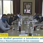 El gobernador Kicillof garantizó a intendentes asistencia para pago de salarios y funcionamiento de las comunas