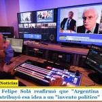 """El Canciller Felipe Solá reafirmó que """"Argentina no rompe el Mercosur"""" y atribuyó esa idea a un """"invento político"""""""
