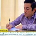"""Leo Nardini: """"Comparto la decisión de Alberto Fernández de mantener las restricciones de cuarentena en todo el Conurbano bonaerense"""""""