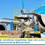 En un vuelo de Aerolíneas Argentinas llegó otro avión de China con insumos para la provincia de Buenos Aires